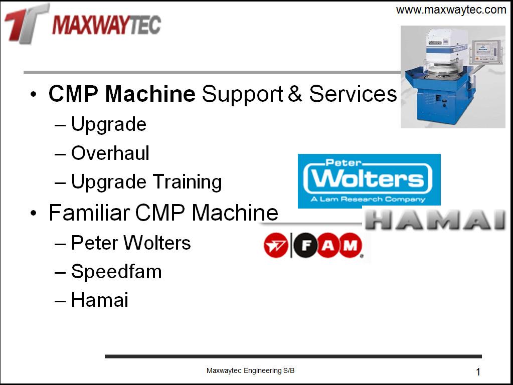 cmp machine